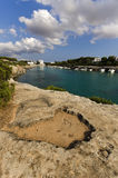 Среднеземноморское побережье. Стоковое Фото