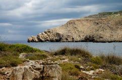 Среднеземноморской ландшафт Стоковые Фотографии RF