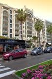 Среднеземноморской взгляд улицы города Стоковые Фото