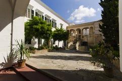 Среднеземноморской двор Стоковая Фотография