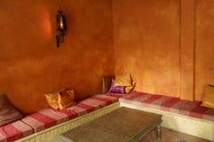 Среднеземноморской дом чая стоковые фотографии rf