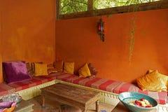 Среднеземноморской дом чая стоковое изображение