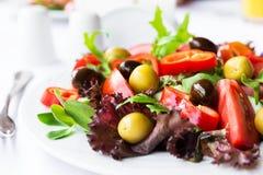 Среднеземноморской салат Стоковые Фотографии RF