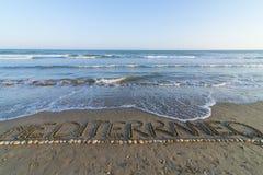 среднеземноморск Стоковые Изображения