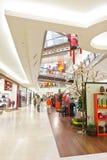 Средний торговый центр долины Стоковые Фото