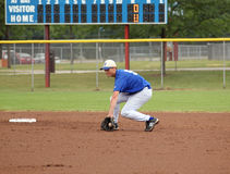 средняя школа бейсбола Стоковое Изображение RF