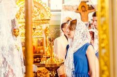 Средняя школа 14 30 ранга Lutsk редакционного колокола последнего репортажа одиннадцатая 05 15 Стоковое Фото
