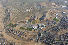 Средняя школа Рио Rancho Стоковые Фото