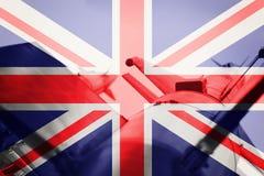 Средства массового поражения Ракета Великобритании ICBM Ба войны Стоковая Фотография