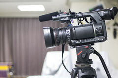 Средства массовой информации видео камеры Стоковые Изображения