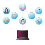 Средства массовой информации social связи системы бесплатная иллюстрация