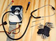 средство диска данным по принципиальной схемы трудное раскрыло обеспеченное хранение обеспеченностью Стоковая Фотография RF