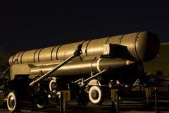 Средство - пионер RSD-10 ракеты ряда стоковые изображения rf