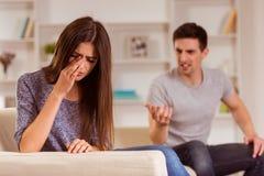 Ссоры в семье Стоковое фото RF