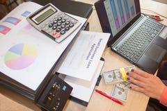 Ссуды деловому предприятию отсутствие проверки кредитоспособности Цитаты ссуд деловому предприятию Стоковое фото RF