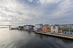 Ставангер в Норвегии Стоковые Фотографии RF