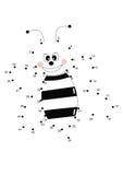 Ставит точки игра, пчела Стоковые Изображения RF