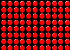 ставит точки красный цвет стоковые фотографии rf