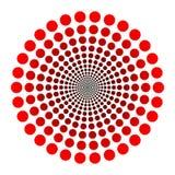 ставит точки логос Стоковые Изображения RF