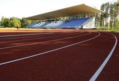 стадион атлетики Стоковые Фото