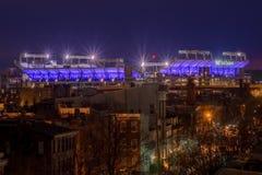 Стадион банка M&T в Балтиморе, Мэриленде Стоковые Изображения RF