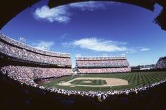 Стадион бейсбола Стоковое фото RF