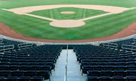 стадион бейсбола Стоковое Фото