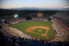 Стадион Доджер - Лос-Анджелес Dodgers стоковые фотографии rf
