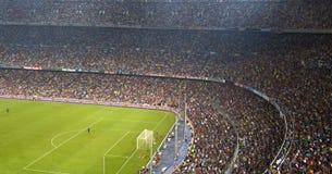 стадион Испании nou лагеря barcelona Стоковые Фотографии RF