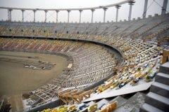 стадион конструкции вниз Стоковые Фото