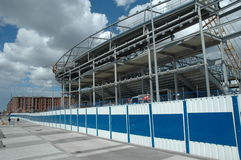 стадион конструкции Стоковое Изображение RF