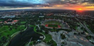 Стадион Мюнхен Олимпии Стоковое Изображение