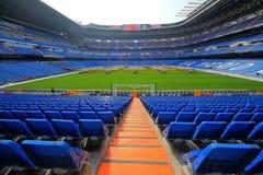 Стадион Сантьяго Bernabeu в Мадриде Стоковое фото RF