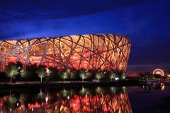 стадион соотечественника Пекин Стоковые Изображения