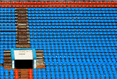 стадион спорта предпосылки Стоковая Фотография