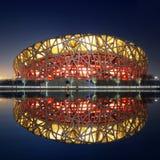 стадион фарфора национальный олимпийский Стоковая Фотография