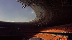 Стадион футбола нового Shakhtar в Донецке, Украин стоковое фото