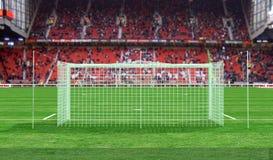 стадион футбола Стоковое Изображение RF