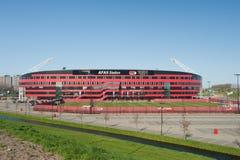 стадион футбола az alkmaar Стоковые Фотографии RF