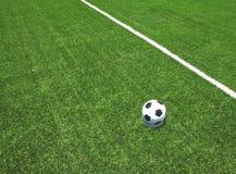 Стадион футбольного поля футбола Стоковые Фото