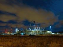 стадион baltic арены стоковое изображение rf