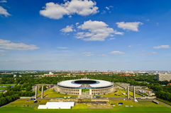 стадион berlin олимпийский Стоковое фото RF