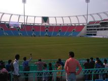 Стадион Crickete стоковые изображения
