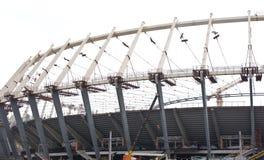 стадион kiev конструкции Стоковые Изображения