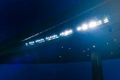 стадион ligths Стоковая Фотография