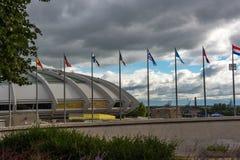 стадион montreal олимпийский стоковые фото