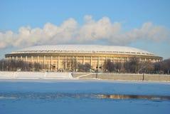 стадион moscow luzhniki Стоковое Изображение