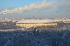 стадион moscow luzhniki Стоковая Фотография