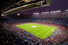 стадион nou лагеря barcelona Стоковое Фото