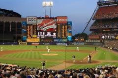 стадион shea бейсбола стоковые фото